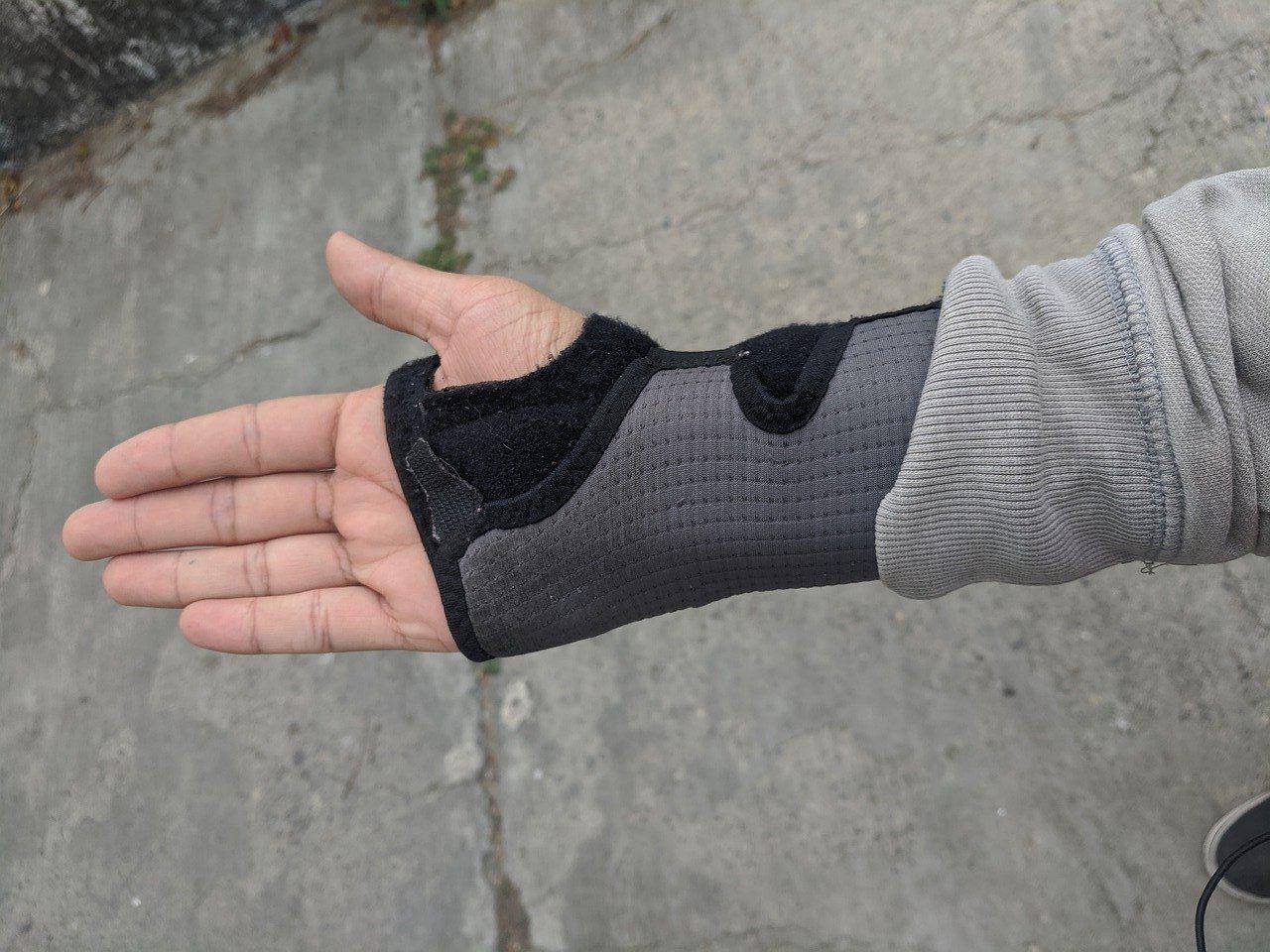 gant de compression